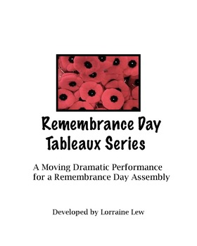Remembrance Day Tableaux for Assembly Script