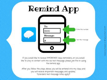 Meet the Teacher  Remind App Note