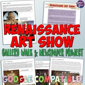 Renaissance Art Show and Newspaper Project