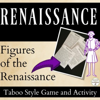 Renaissance: People of the Renaissance Center Activity and Game