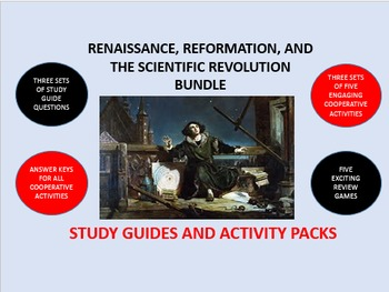 Renaissance, Reformation, Science Bundle: Study Guides and