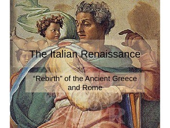 Renaissance, Reformation and Exploration  PowerPoints and