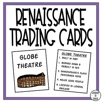 Renaissance Trading Cards