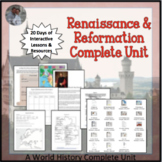 Renaissance and Reformation Complete Unit