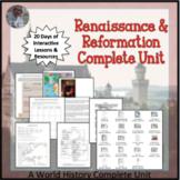 Renaissance and Reformation Complete Unit