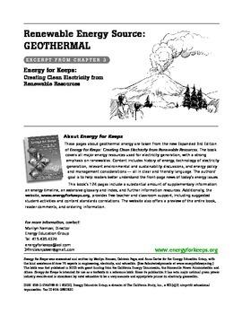 Renewable & non-renewable energy: electricity generation -