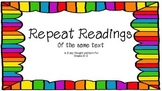 Poetry Shared Reading- Reading Strategies for 5 days with