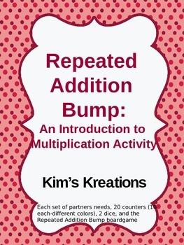 Repeated Addition Bump: An Introduction to Multiplication