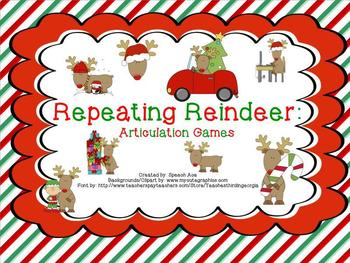 Repeating Reindeer: Christmas Articulation Games