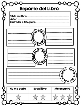 Reporte del Libro / Book Report in Spanish