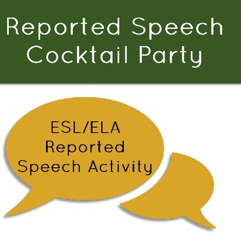 Reported Speech Cocktail Party