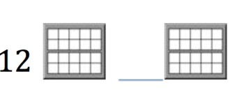 Represent and Identify numbers 11 - 20 with double ten frames