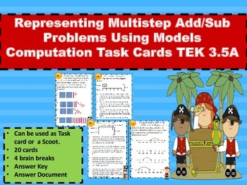 Representing Multi-step Add/Sub Problems  Computation Task