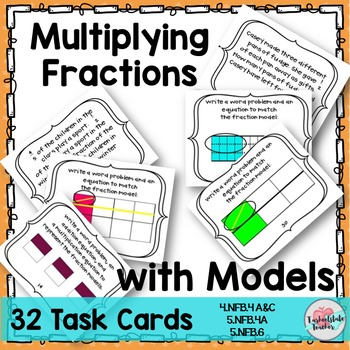 Multiply Fractions with Fraction Word Problems and Fractio