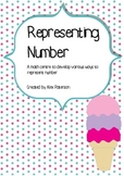 Representing Number - Ice cream scoops - Numbers to 1000
