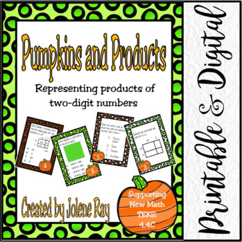 Representing Products of Two-Digit Factors: New Math TEKS