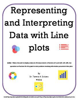 Representing and Interpreting Data using Line Plots