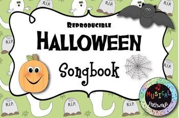 Reproducible Halloween Songbook