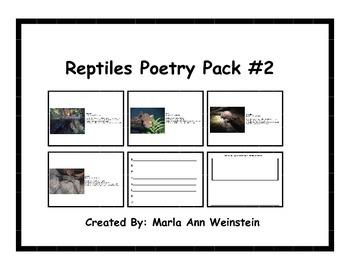 Reptiles Poetry Pack #2