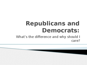 Republicans and Democrats: What's the Difference and Why S