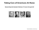 Research Activity: Presidential Domestic Policies of Truma
