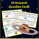 Planets - Research Question Task Cards