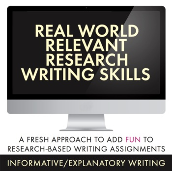 Research-Based Writing for Teens, Use Blog Approach to Pra