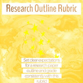 Research Outline Rubric