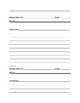 Research Paper Body Scaffolding Worksheet