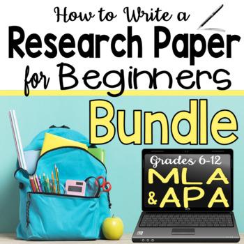 Research Paper Bundle - APA and MLA