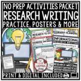 Research Paper Writing [Research Graphic Organizers, Ancho