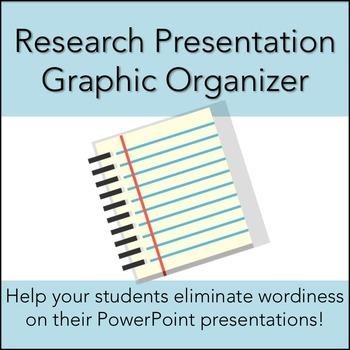 Research Presentation Graphic Organizer