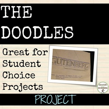 Research Project: Create a set of Doodles Social Studies Project