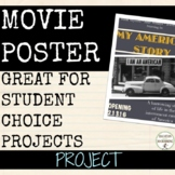 Movie Poster Research Project Tool for Social Studies and ELA