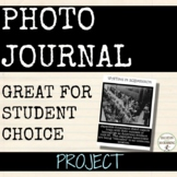 Photo Journal research project for any subject.