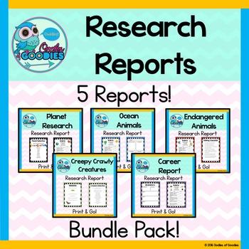 Research Report - Bundle Pack