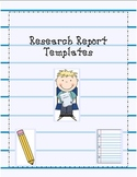 Research Report Templates