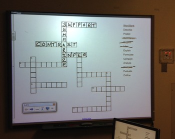 Research Terms Crossword Puzzle