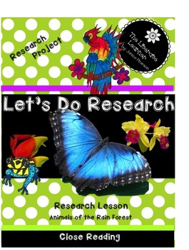 Research and Write a Report 2nd and 3rd Grade