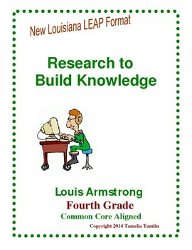 Research to Build Knowledge 4th Grade LEAP Prep (Louis Armstrong)