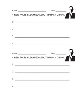 Researching Facts: President Barack Obama
