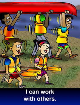 Resilience Poster - I can work with others
