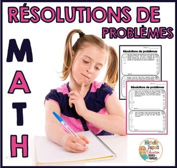 Résolutions de problèmes à plusieurs étapes  - French Math