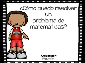 Resolver problemas de matemáticas/ Solving a Word Problem