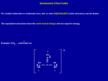 Resonance Structures Explained - Chemistry Review (Present