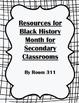 Resources for Black History Bundle
