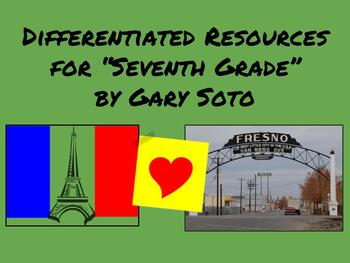 """Resources for """"Seventh Grade"""" by Gary Soto"""