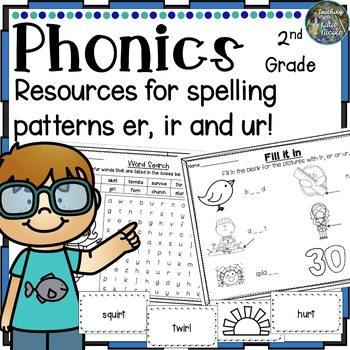 Phonics Second Grade:Resources for learning r controlled v