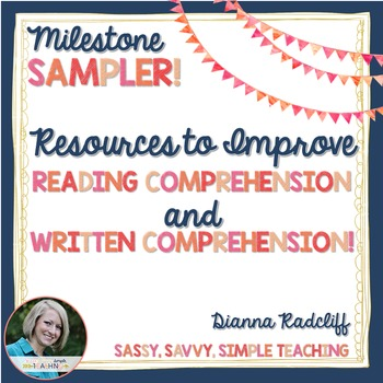 Resources to Improve Reading & Written Comprehension [Sampler]