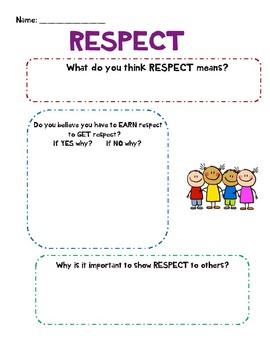 Respect Lesson
